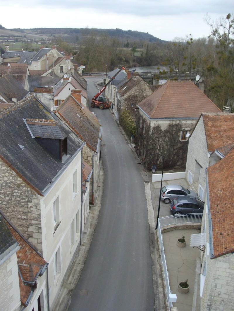 Rue du Moulin vue du Moulin
